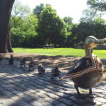 Public Garden-Beacon Hill-Boston, MA-Make Way For Ducklings